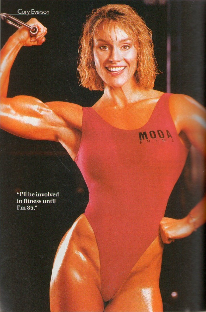 Corinna Cory Everson Training