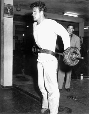 Steve Reeves Training