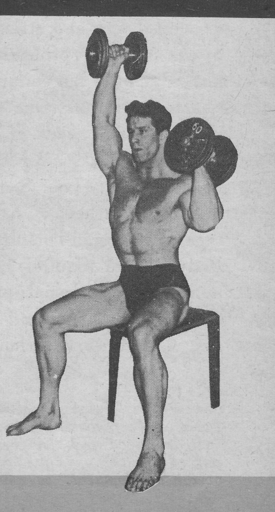Reg Park Seated Alternating Press