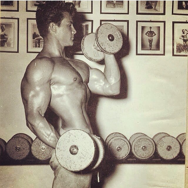 Steve Reeves Training part 9