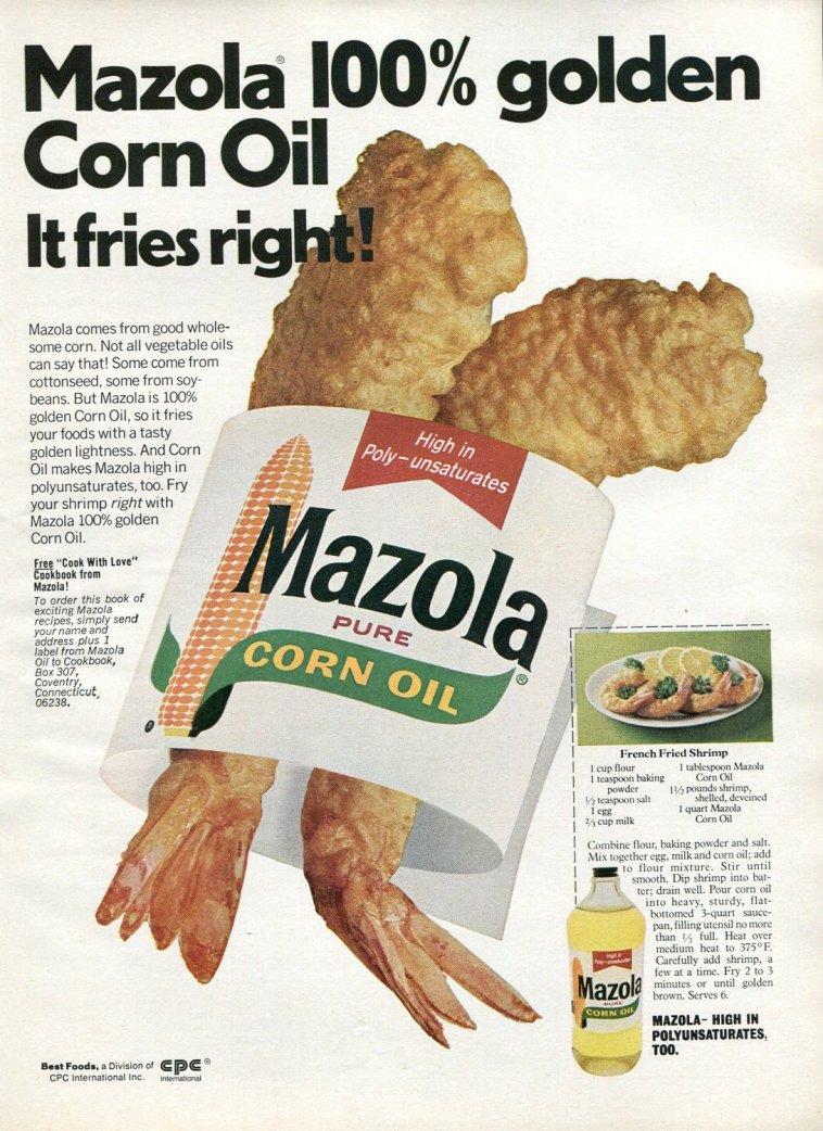 Mazola Marketing Advertisement 11