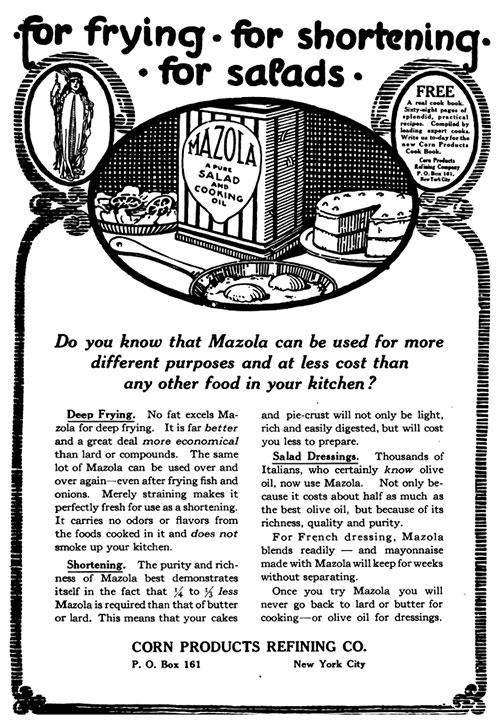 Mazola Marketing Advertisement 13