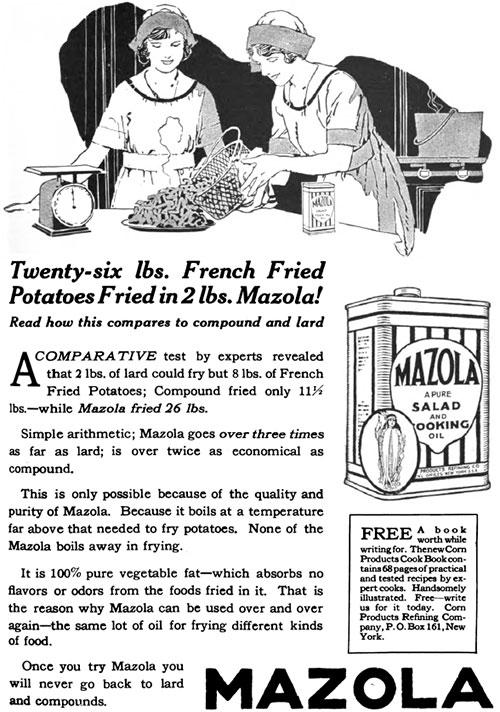 Mazola Marketing Advertisement 14