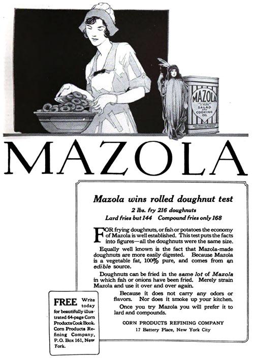 Mazola Marketing Advertisement 15