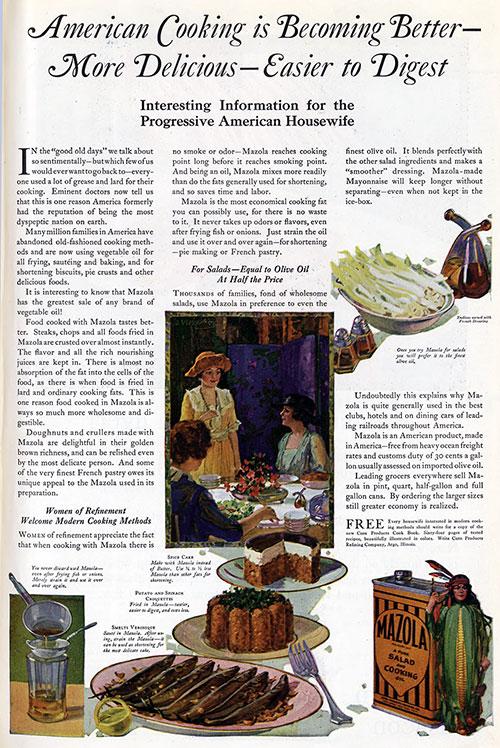 Mazola Marketing Advertisement 16