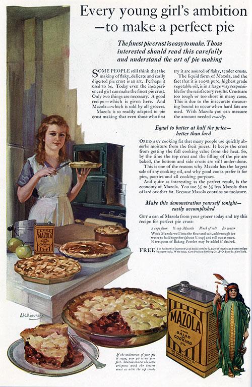Mazola Marketing Advertisement 17