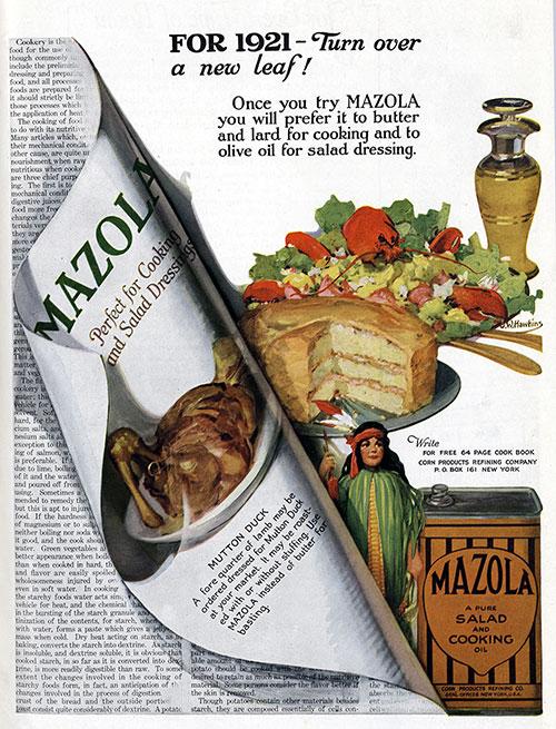 Mazola Marketing Advertisement 18