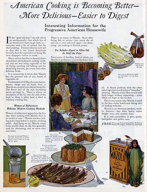 Mazola Marketing Advertisement 19