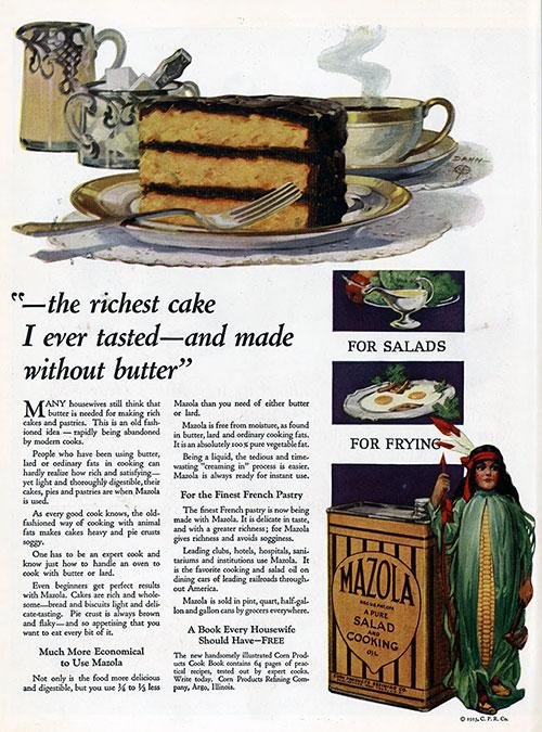 Mazola Marketing Advertisement 21