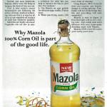 Mazola Marketing Advertisement 23
