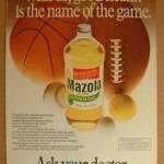 Mazola Marketing Advertisement 24