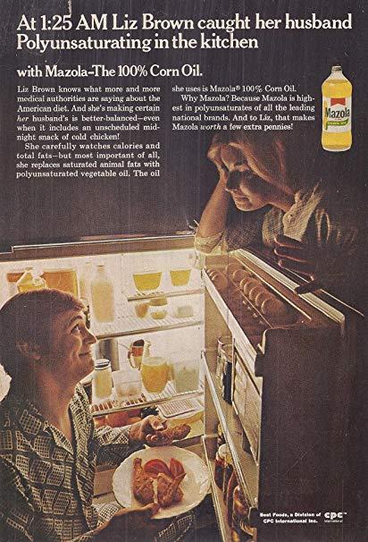 Mazola Marketing Advertisement 3