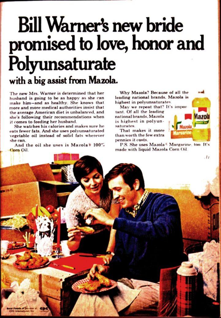 Mazola Marketing Advertisement 5