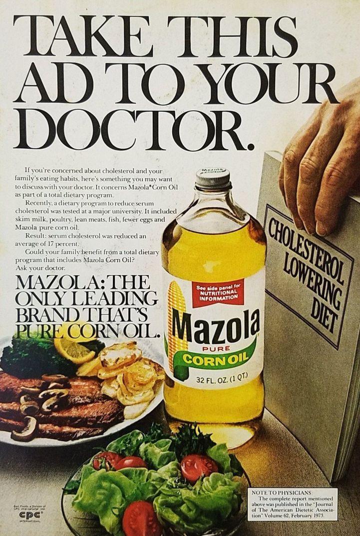 Mazola Marketing Advertisement 9