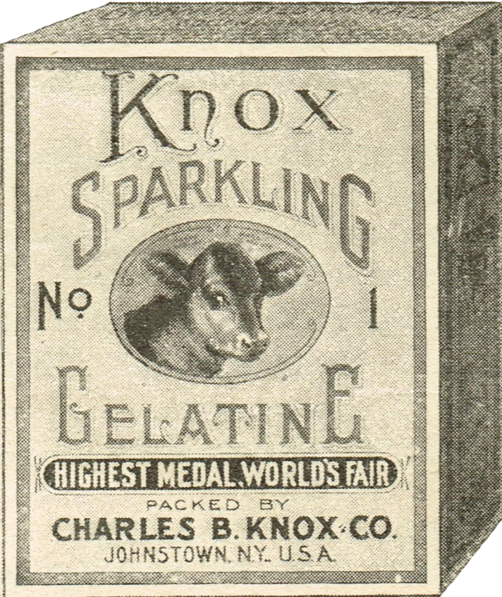 Gelatin Advertisement 13 Knox Gelatin