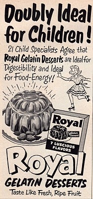 Gelatin Advertisement 18 Royal Gelatin