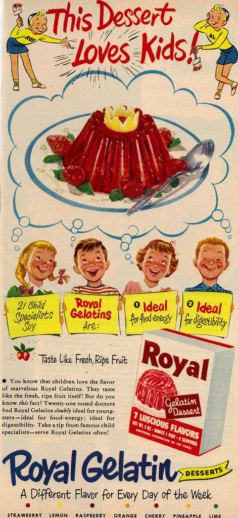 Gelatin Advertisement 19 Royal Gelatin