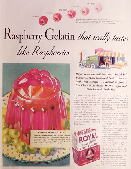Gelatin Advertisement 20 Royal Gelatin
