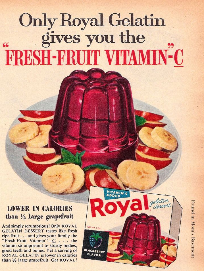 Gelatin Advertisement 21 Royal Gelatin