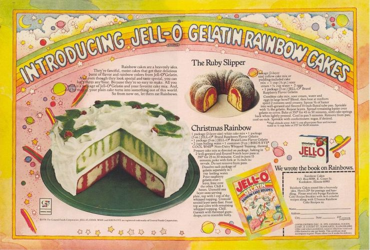 Gelatin Advertisement 24 Jell O Gelatin