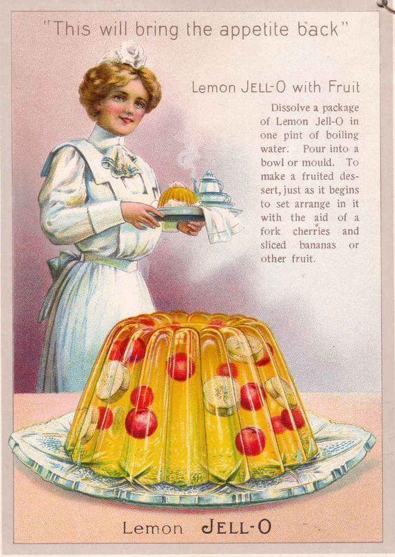 Gelatin Advertisement 26 Jell O Gelatin 1925