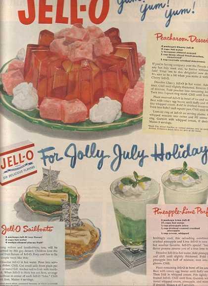 Gelatin Advertisement 28 Jell O Gelatin