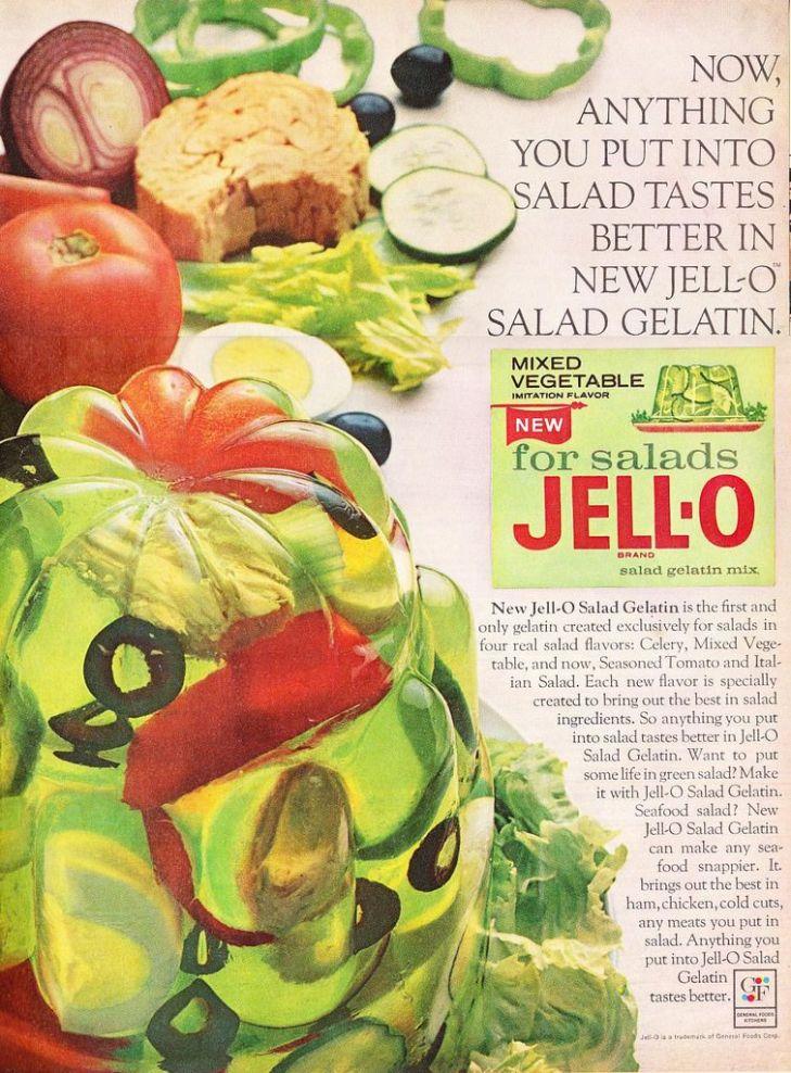 Gelatin Advertisement 35 Jell O Gelatin