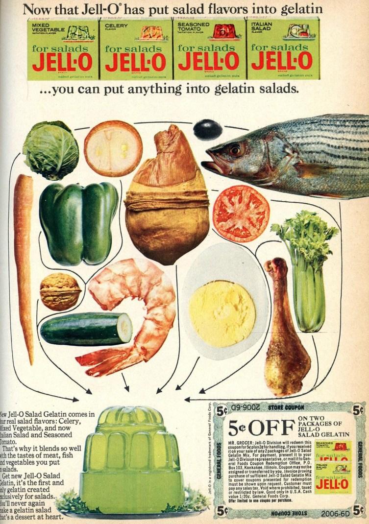 Gelatin Advertisement 38 Jell O Gelatin