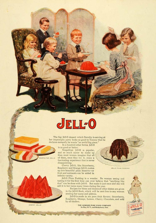 Gelatin Advertisement 52 Jell O Gelatin