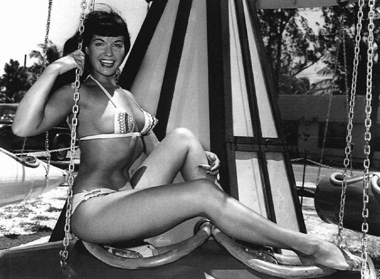 Bettie Mae Page Posing part 3