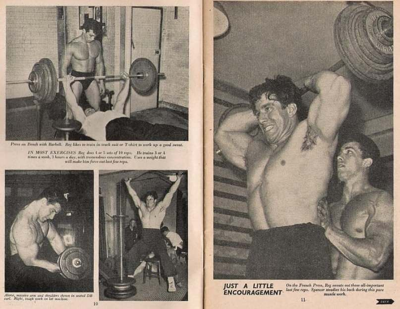 Reg Park Training
