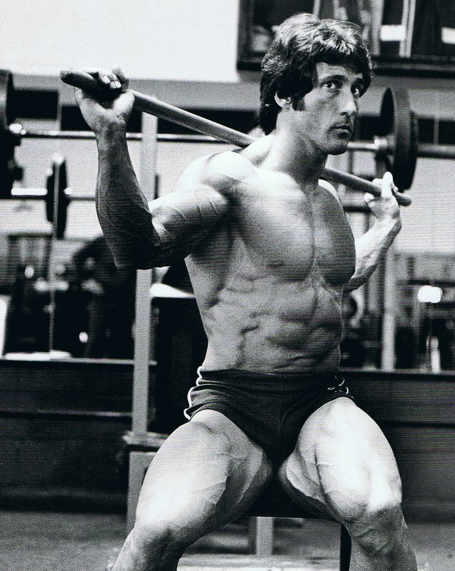 Seated Side Twists, Frank Zane