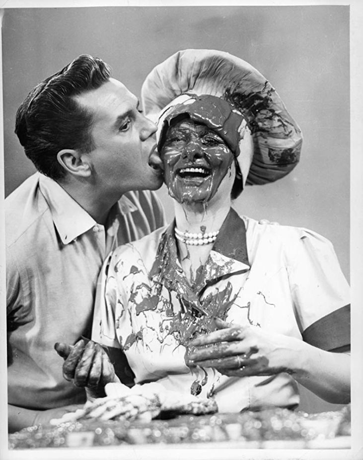 Desi Arnaz and Lucille Ball from the television series I love Lucy