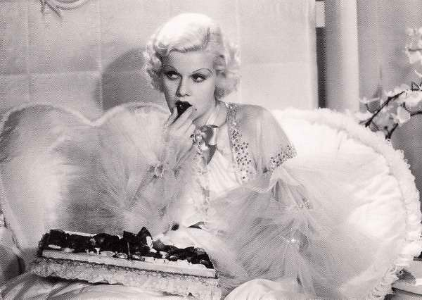 Jean Harlow from the motion picture Dinner at Eight 1933