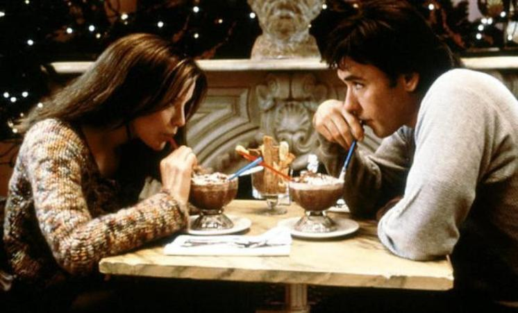 Kate Beckinsale and John Cusack from the motion picture Serendipity 2001