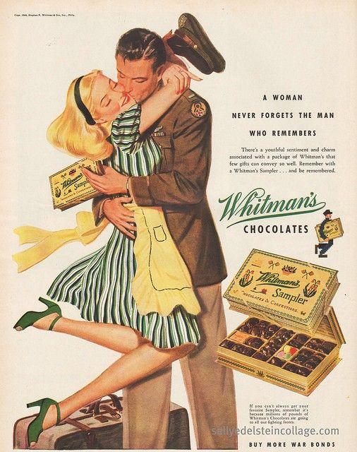 Whitman's Chocolates advertisement 1944