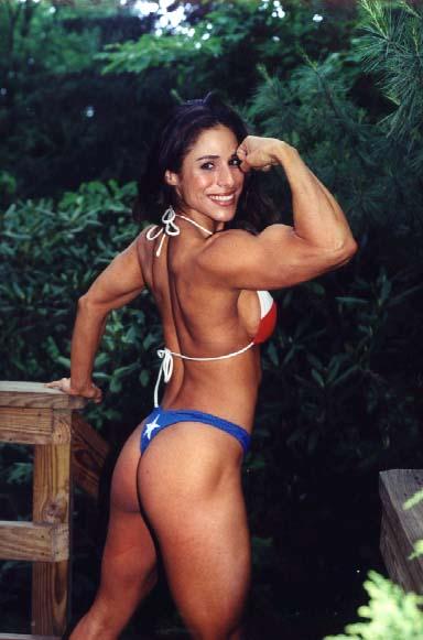 Kristi Oakley Posing