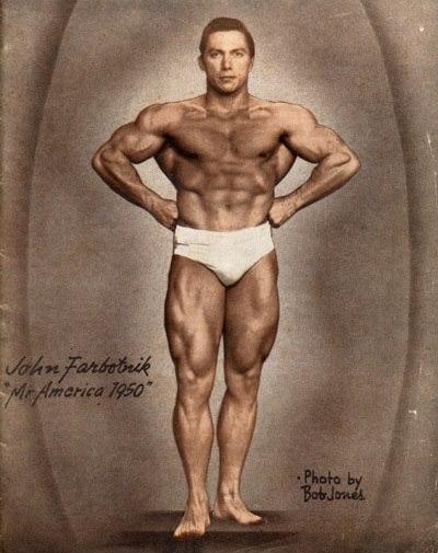 John Farbotnik Posing