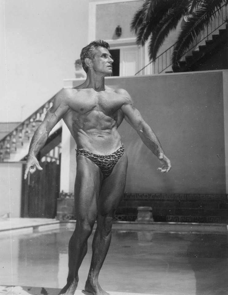 Vince Gironda Posing
