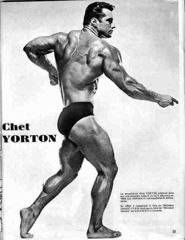 Chester Yorton Posing