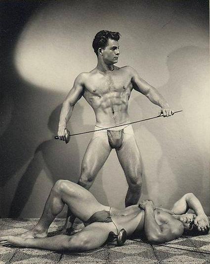 Dick Spero and Hugh Pendleton Posing