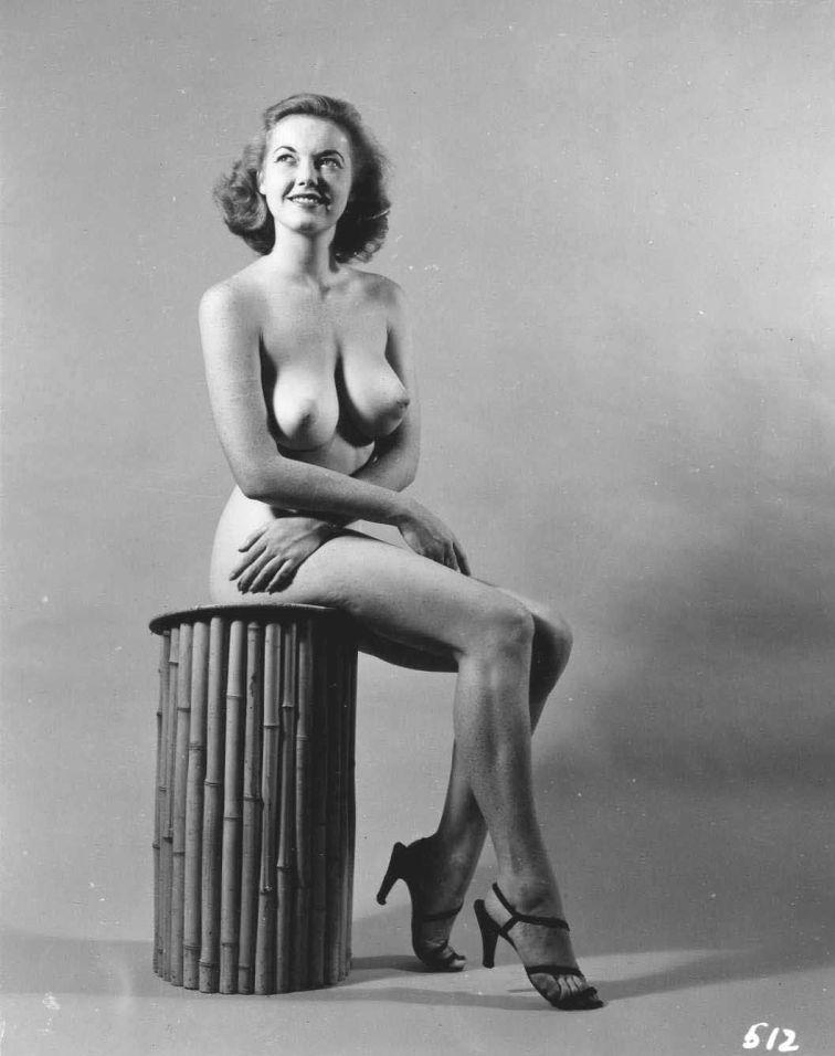 Judith O'Day Posing