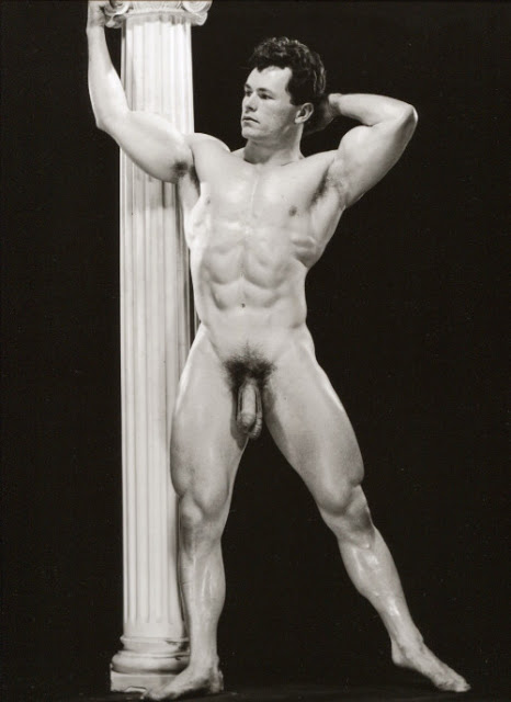 Norman Tousley Posing