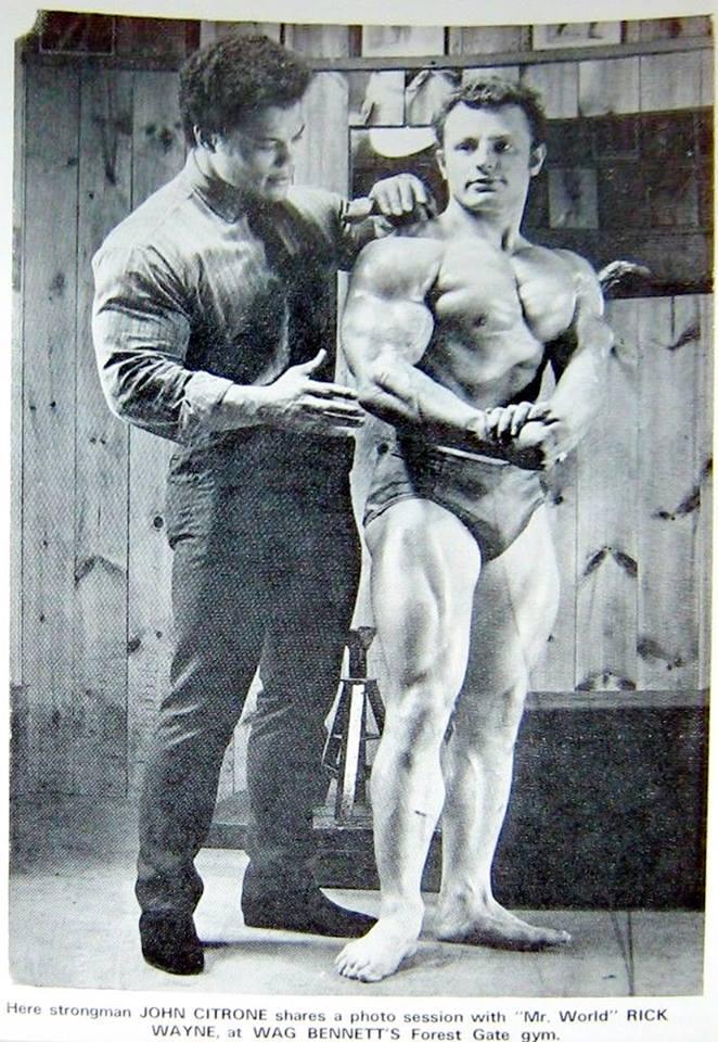 Rick Wayne and John Citrone Posing
