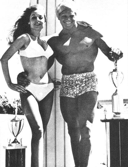 Betty Brosmer and Dave Draper Posing