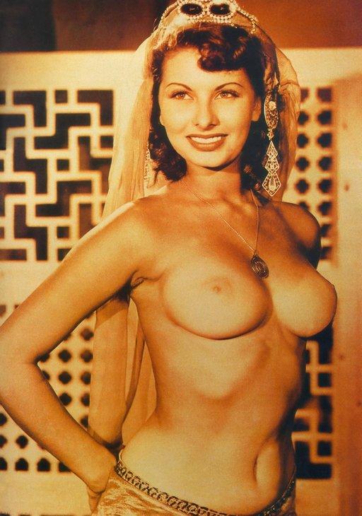 Sophia Loren Posing