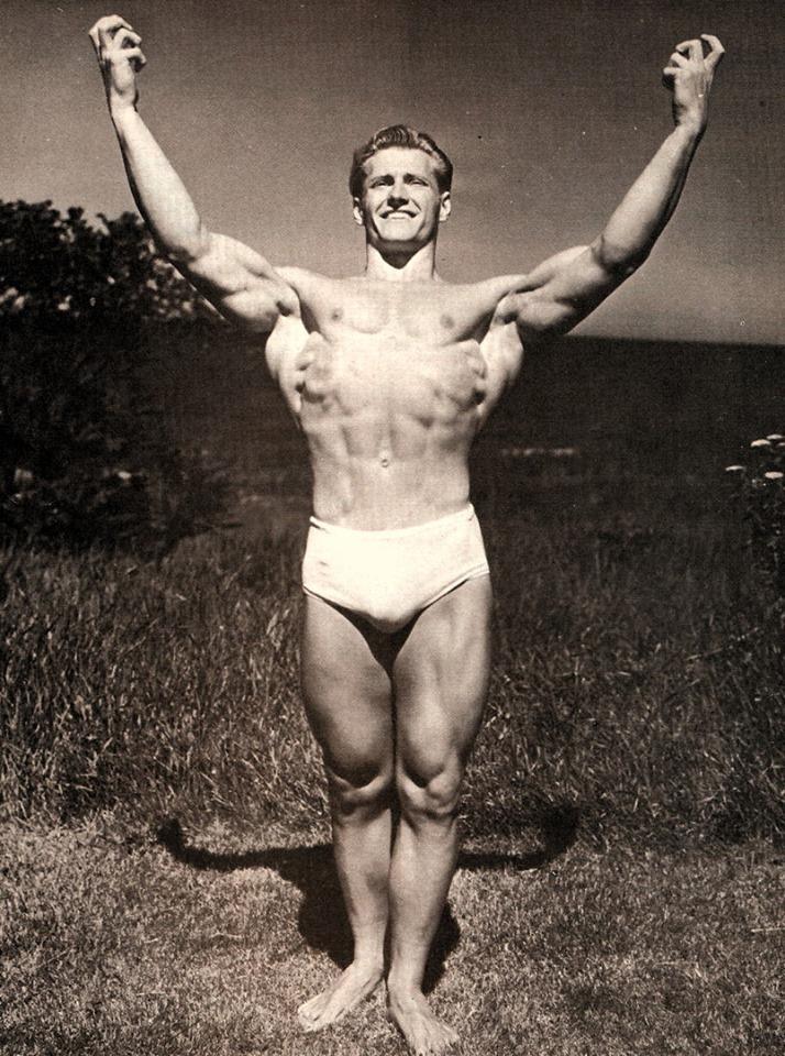 Alan Stephan Posing