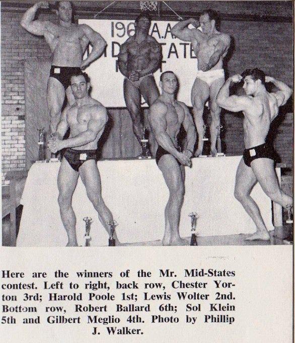 Chester Yorton, Harold Poole, Lewis Wolter, Robert Ballard, Sol Klein, and Gilbert Meglio Posing