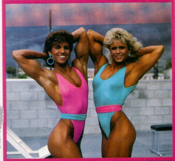 Marjo Selin and Tonya Knight Posing