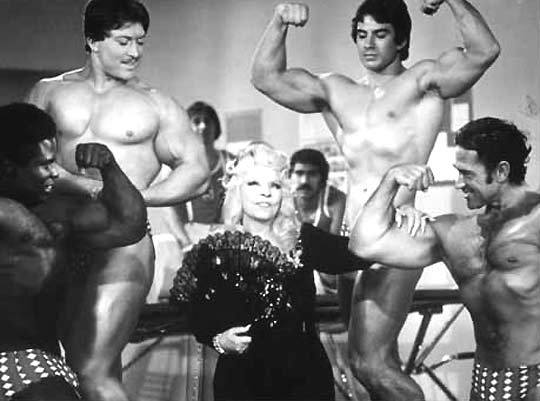 Reg Lewis and Mae West Posing